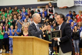 Lindblad named Oregon state teacher of the year