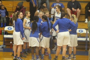 The Gresham girls prep for the the game against Oregon city