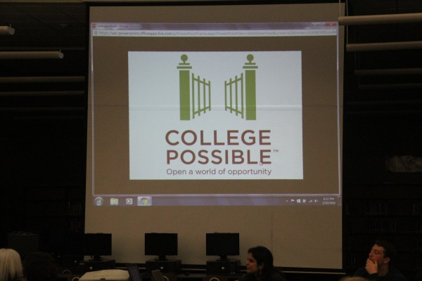 College Possible about to start their presentation.