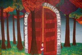 A tour inside of the Child DevelopmentCenter