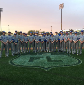 Varsity Boys Baseball takes on Florida as aTeam